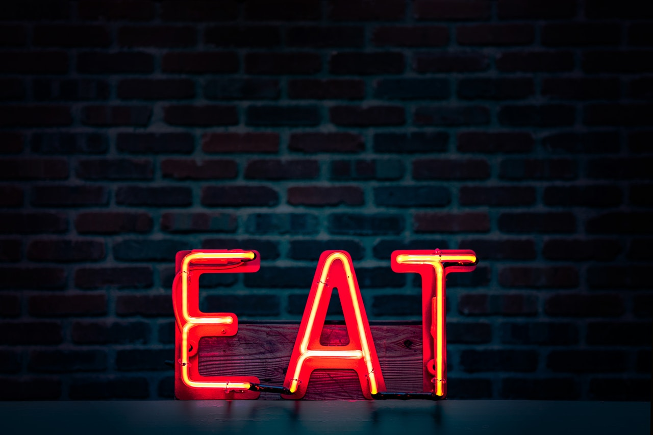 red eat neon sign turned on 1113520 - Nutritional Support for Chemotherapy Patients